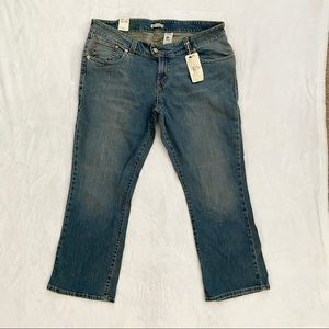 LEVIS Low Rise Flare Stretch Jeans Pocket Flaps